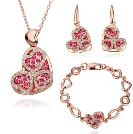 velentine jewelry heart shaped