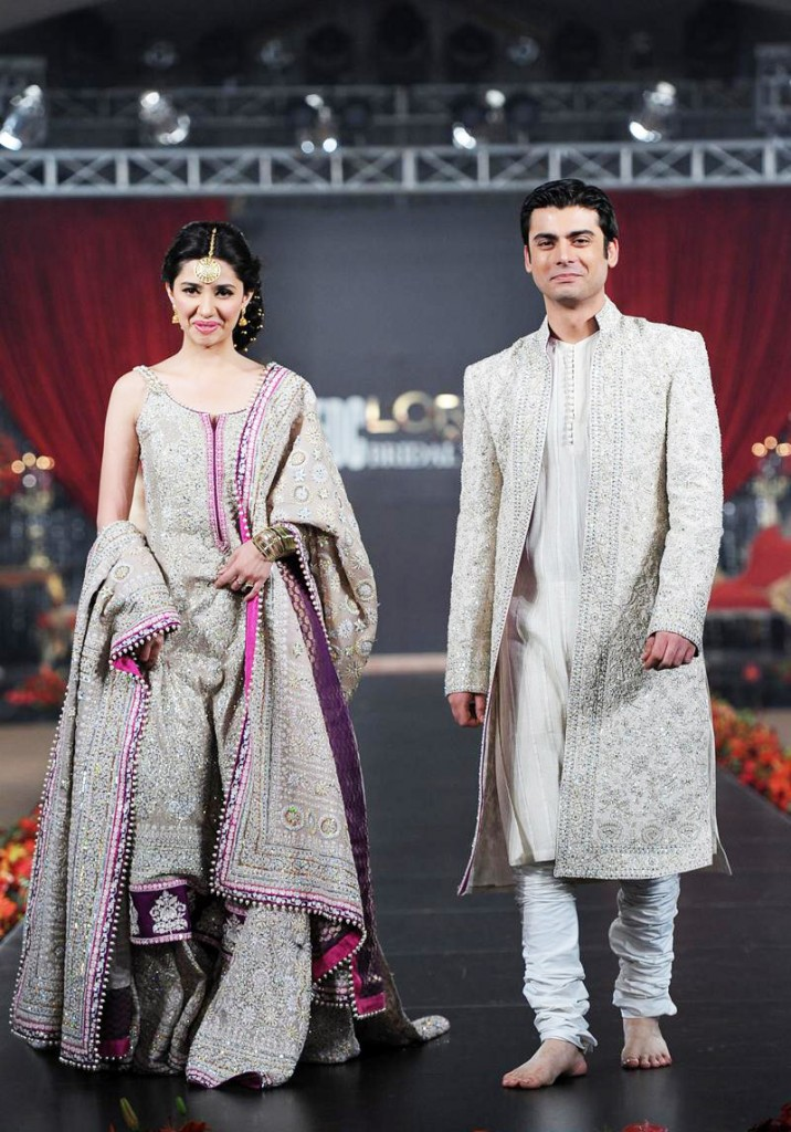 mahira khan with fawad khan
