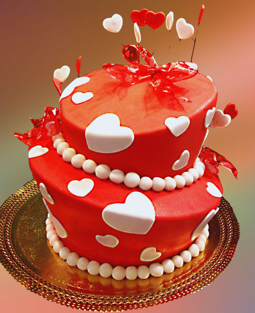 Love Heart Cake Images : Best Gift for Boyfriend