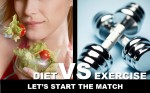 To Diet or to Exercise??