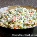 RUSSIAN SALAD – VEGETABLE SALAD