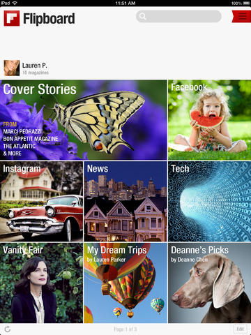 Flipboard - Your Social News Magazine iphone app