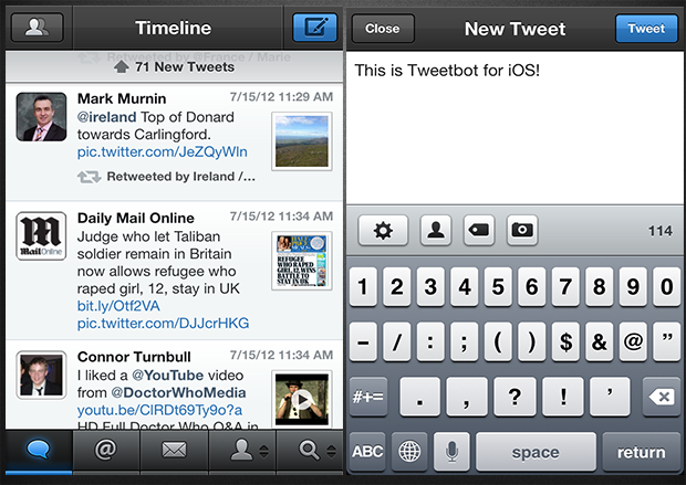 Tweetbot for Twitter iphone