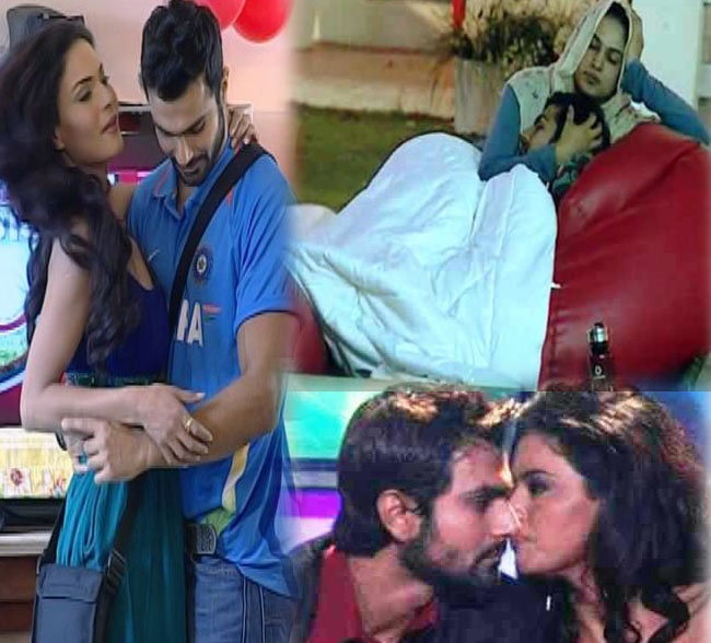 bigg boss season 4 Veena malik with ashmet patel