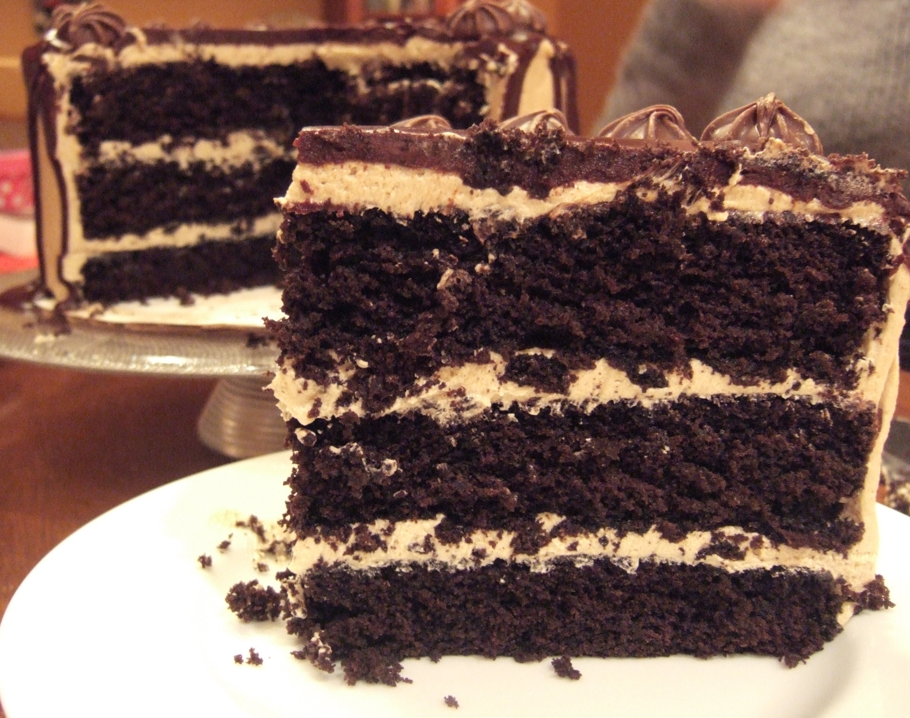 COFFEE CHOCOLATE CAKE