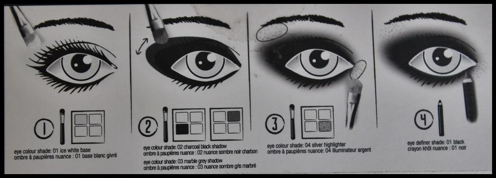 4 steps for smokey eyes