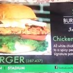 Chicken tikka Burger brochure