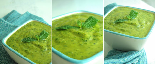 Green  Mint Chutney Recipe