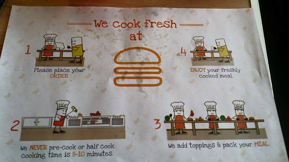 burger inc. motto