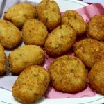 Cheese Filled Chicken Potato Cutlets Recipe