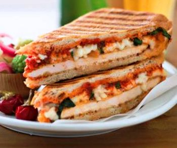 Pizza Capsicum Sandwich