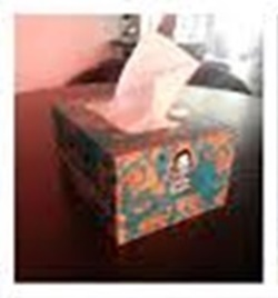 Sattar Buksh's signature tissue box