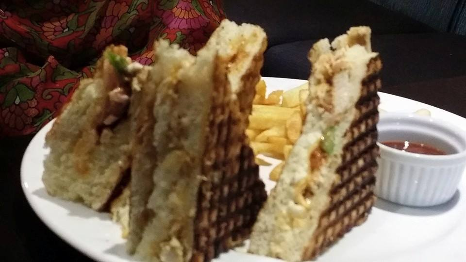 The Chicken and Spinach Panini in Sattar Buksh