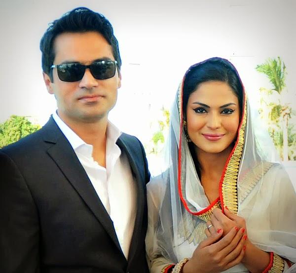 Veena Mlik wedding