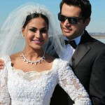 veena malik white wedding in washington
