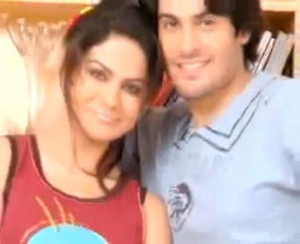 veena malik with babrak shah