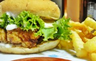 How To Make Chicken Zinger Burger with Home Made Crispy French Fries Recipe