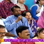 A Man In The Audience Telling How A Normal Pakistani Husband Gets Frustrated From A Wife