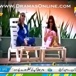A Package on Komal Rizvi in a Live Morning Show