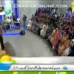 Aamir Liaquat Rejecting The Gesture of Those Who Put Their Hands On Their Hearts During National Anthem