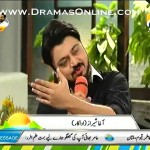 Actor Agha Sheraz Got Emotional in Live Show