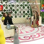 Cute Baby Girl of Sadia Imam Making Noise in a Live Show