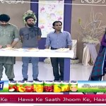 See What Task Nida Gives To The Husband In Live Show