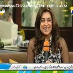 Singer Komal Rizvi Telling Her Diet Plan In Live Show