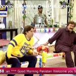 A very funny joke told by shabbir jan on the topic of dusri biwi in a live morning show