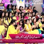 Actor Agha Ali Said On Live Show That Basant Is A Festival of Poondi & Match Making