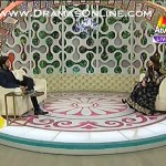 Actor Danish Taimoor Telling About His Role In Jalaibee First Time In Live Show