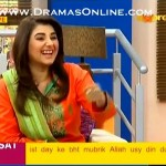 Actor Naveed Raza telling a funny thing that many people in public think that Shabbir Jan is his father