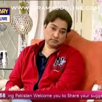 Actor Saud insulted Mrs Khan with a cracking point on her face in a live morning show
