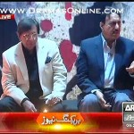 Actor Shafqat Cheema strongly criticising Nawaz Sharif on saying those were his children