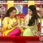 Actress Binita apni adat se majbur har morning show me hindi ka lafz istemal karti rahi
