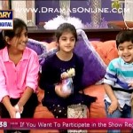 Adnan Siddiqui's Son And Daughters Doing Hillarious Things On A Live Show