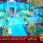 Agha Ali And Zahlay Sarhadi Singing Indian Songs On EID Special Show