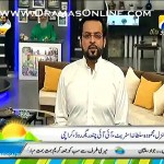 Amir Liaquat giving a strong reply to those cartoonist of france with a great story