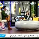 Amir Liaquat live morning show me Zeba Bakhtiyar ki dobara shadi karane k peeche hi parh gaye