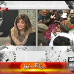 ARY Anchor telling the stories told by those children who got saved in the terror attack in peshawar