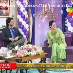 Bushra Ansari Shown Dancing With Javed Sheikh On Monica Oh My Darling in live show