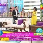 Designer Saim ko Actress Binita pe live morning show me gussa agaya or unko khari khari suna dali