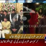 Exclusive Pictures & Video Of Ahmed Shahzad With Wife