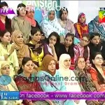 Fake Audience on Hum Tv morning Show, A Lady forgets the Script