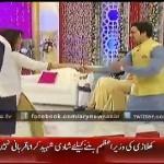 Filmstar Noor, Zahlay Sarhadi Dancing With Hamad & Faraz On Indian Songs On A Morning Show