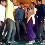 Girl Beats Boy For Misbehaving During Dance In Wedding