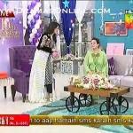 Imran Abbas Calling Bushra Ansari A Hot Girl in Sanam Jung's Live Morning Show