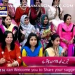 Maheen Rizvi & her husband telling each others good and bad likes dislikes on a morning show