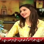 Mahira Khan First Time Dancing with Humayun Saeed in Eid Show