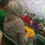 Mashallah She Was Reading Quran for Pakistan's Win